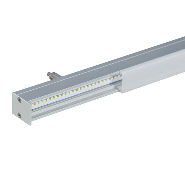 LP ONE - The LP ONE is an LED specific 25mm linear channel. This small channel allows for minimal linear lighting in both a suspended and surface application. Driver is REMOTE. Design with the minimalist LP ONE for sleek, micro-illumination in a multitude of applications. Custom or stocked lengths available