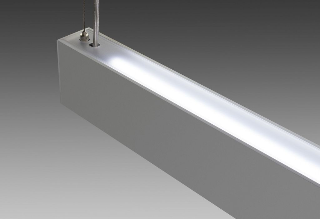 LP COVE UD - The LP COVE  UD SERIES  designed with a minimal profile for  horizontal  suspended applications, direct /  indirect lighting.