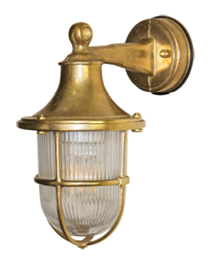 ART406 - Surface mounted Brass lantern